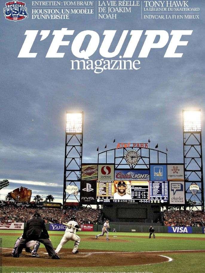 L'Equipe Magazine N°1602 - 30 Mars 2013