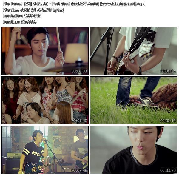 (MV) CNBLUE) - Feel Good (GALAXY Music) (HD 720p Youtube)