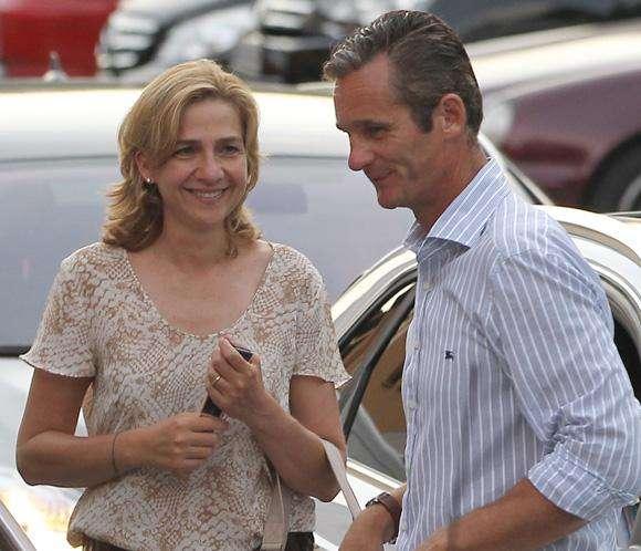 Cristina e Iñaki Urdangarín