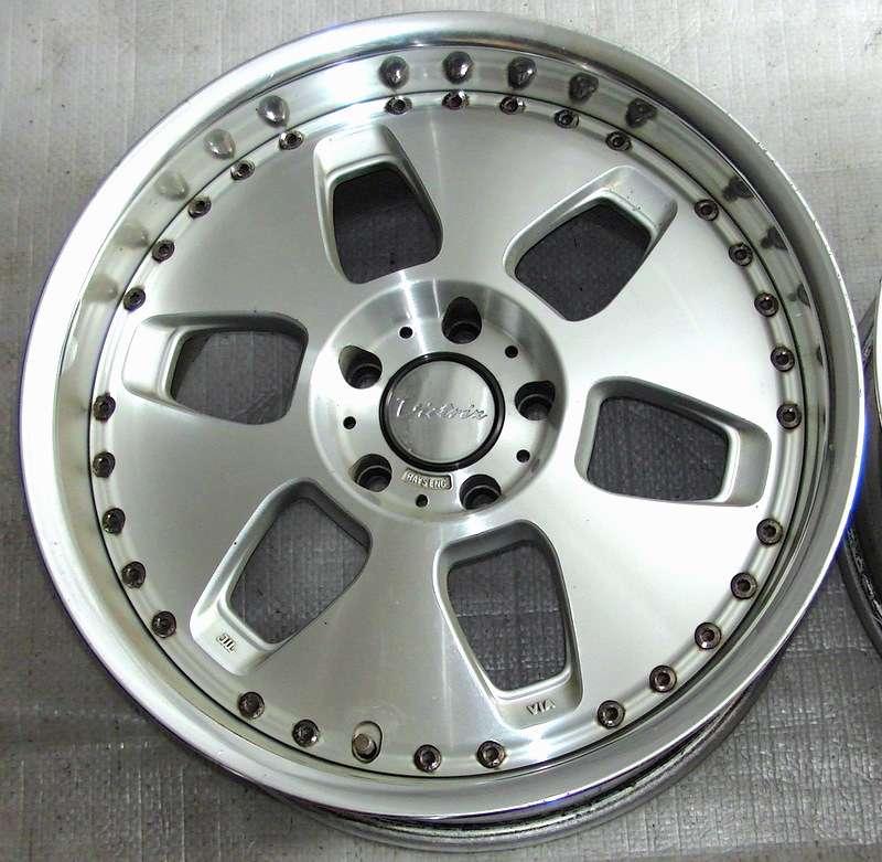 RAYS Brainer Victrix 2X 18x9J +38 5x 114,3mm Alloy wheels rims
