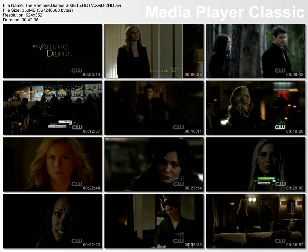 The Vampire Diaries 3. Sezon 15. Bölüm DVBRip XviD Türkçe Altyazılı Tek Link indir