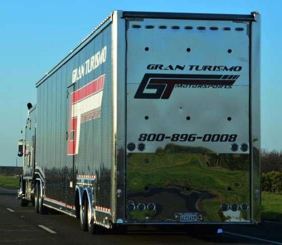 Gran Turismo Motorsports truck - 800-896-0008
