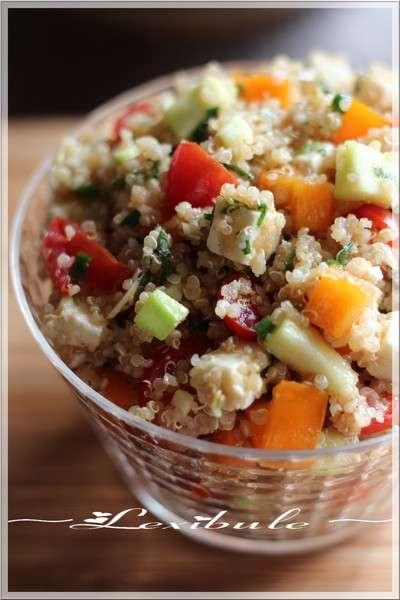 salade quinoa thon