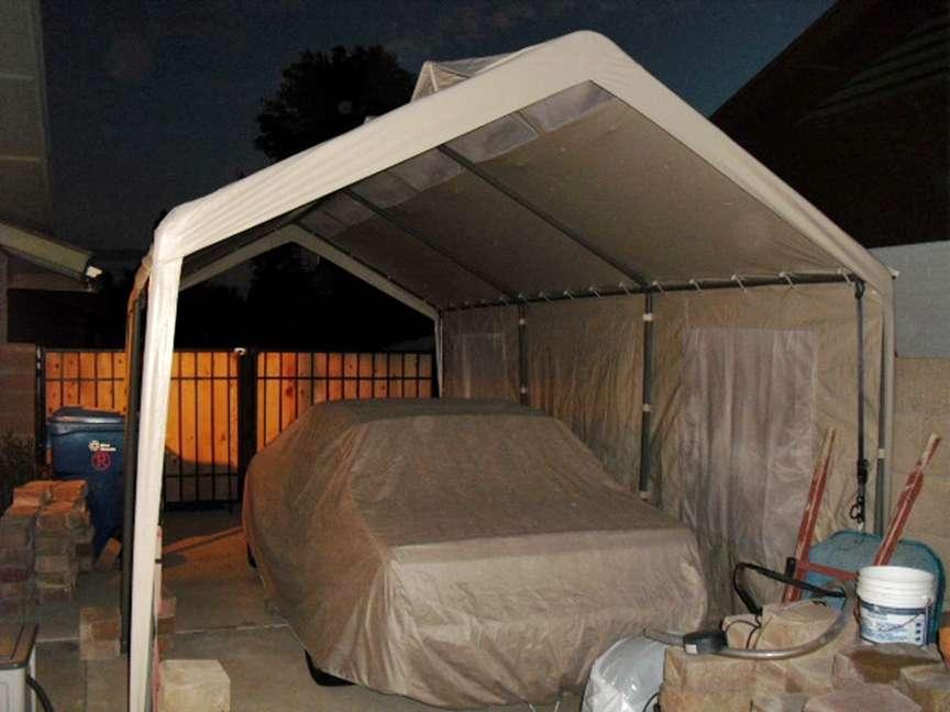 Toldo carpa de 6m x 3m con paredes laterales uso rudo for Garage jm auto audincourt