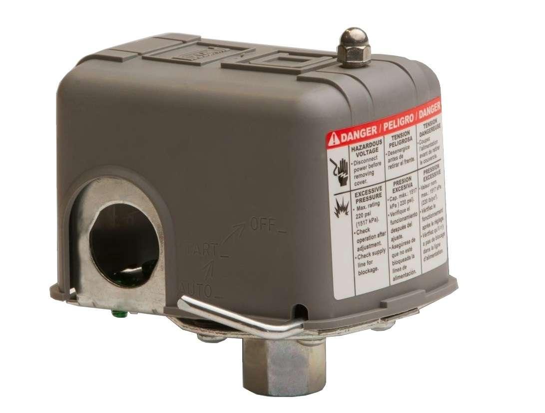 Pressostat s curit manque d 39 eau 6 bar square d pumptrol - Pressostat manque d eau ...