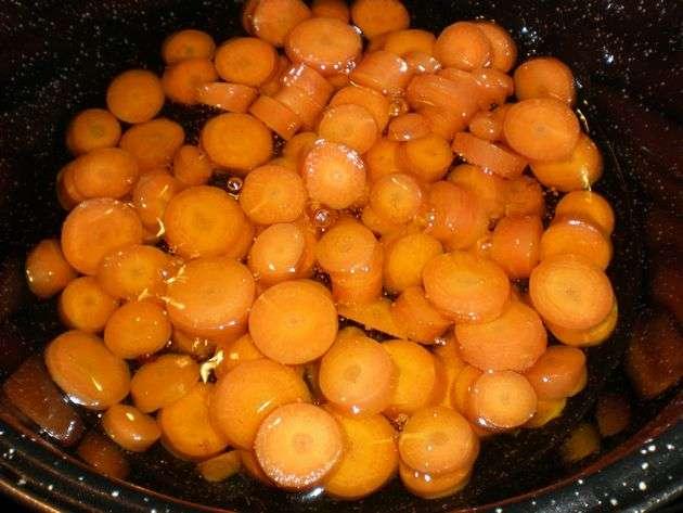 Fritura de zanahorias