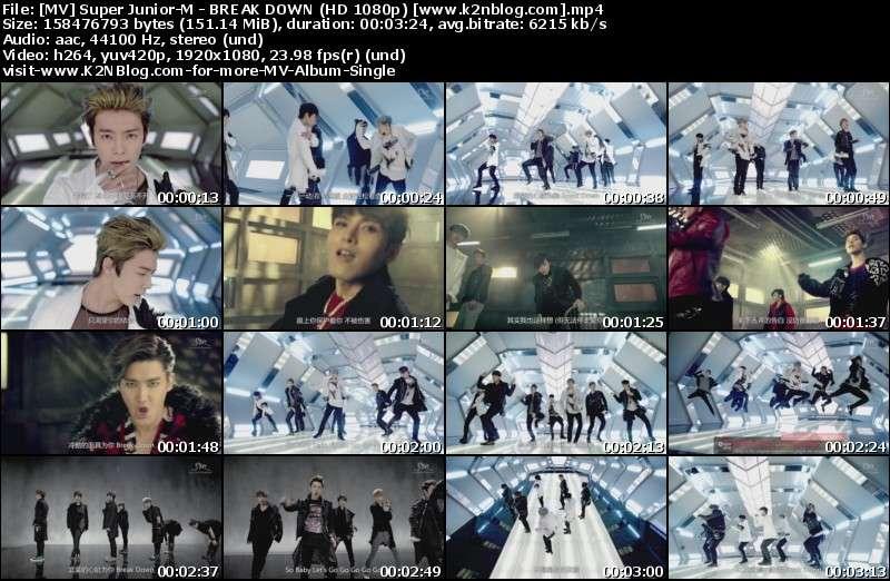 [MV] Super Junior-M - BREAK DOWN (HD 1080p Youtube)