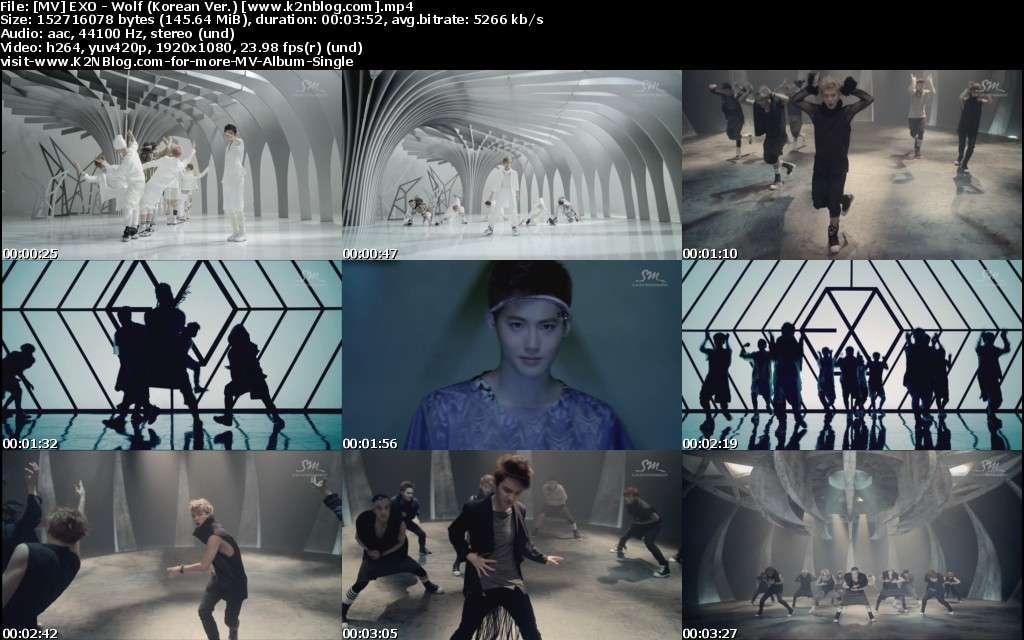 [MV] EXO - Wolf (Korean Ver.) [HD 1080p Youtube]